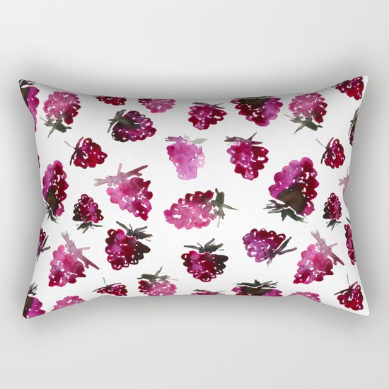 Blackberries Rectangular Pillow