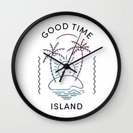 Good Time Island Wall Clock