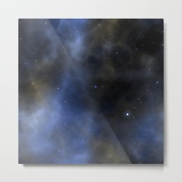 Cosmic Space Galaxy Metal Print