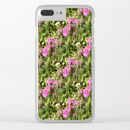 Sweet Pea Lace...... Clear iPhone Case