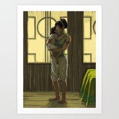 Momma Toph Art Print