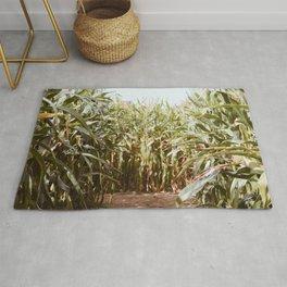 Corn Maze Rug