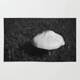 Lone Mushroom Rug