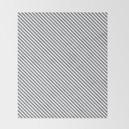 Sharkskin Stripe Throw Blanket