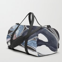 Dolphin, orca, beluga, narwhal & cie Duffle Bag