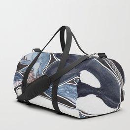 Dolphin, orca, beluga, narwhal & cie Duffle Bag