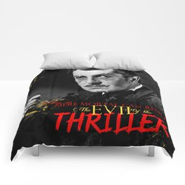 The Evil of the Thriller, Vincent Price Comforters
