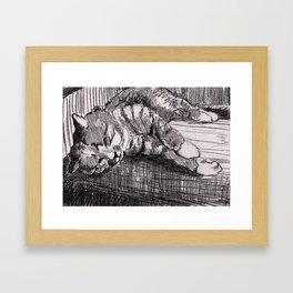 Muki Framed Art Print