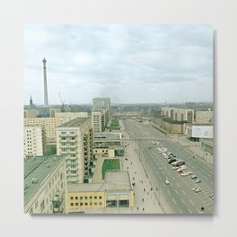 East Berlin Fernsehturm '69 Metal Print