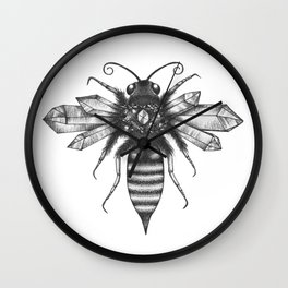 Quartz Queen Bee Wall Clock