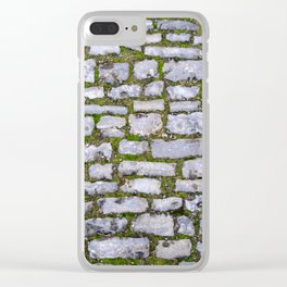 Cobblestone Clear iPhone Case