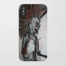 Punk is UnDead iPhone Case