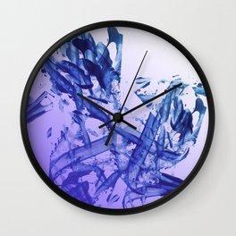 Indigo Impact Wall Clock