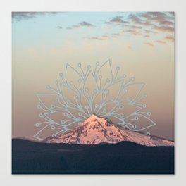 Mountain Mandala Canvas Print