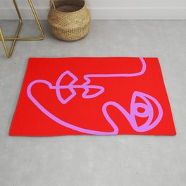 Two Faced Cherry Bomb Rug
