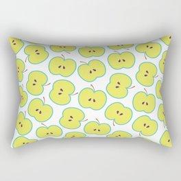 Summer apple Rectangular Pillow