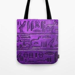 Hieroglyphs 2014-1029 Tote Bag