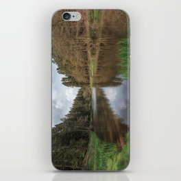 Spring at Soudley Ponds iPhone Skin