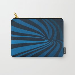 Movement in Blue Carry-All Pouch