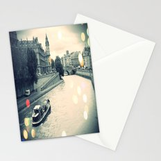 Floating gray Stationery Cards