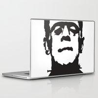 frankenstein Laptop & iPad Skins featuring Frankenstein by b & c