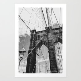 Lines of Brooklyn Art Print