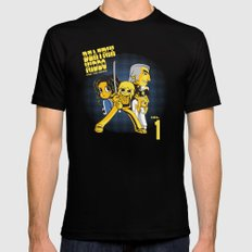 Beatrix Kiddo Vs The De.Vas Black MEDIUM Mens Fitted Tee