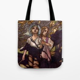 """Hansel and Gretel"" by Charles Robinson Tote Bag"