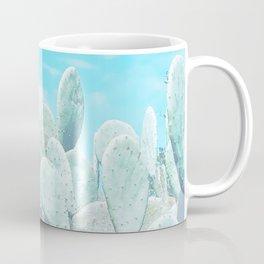 blue cactus Coffee Mug