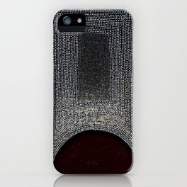 White, Black & Red iPhone Case