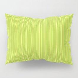 Lime Green Pinstripe Pillow Sham
