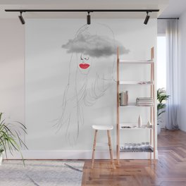 Clouded levres Wall Mural