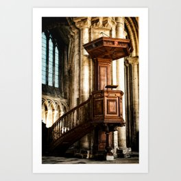 The Pulpit Art Print