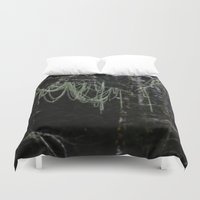 chandelier Duvet Covers featuring Nature's Chandelier by CSL2