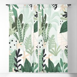 Into the jungle II Blackout Curtain