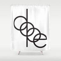 dope Shower Curtains featuring DOPE by Rui Faria