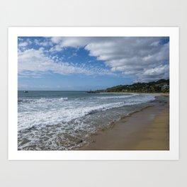 Aguadilla ocean view 2 Art Print