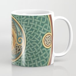 Celtic Knotwork Shield Coffee Mug