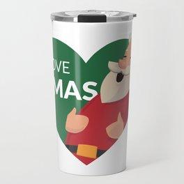 I Love XMAS Travel Mug