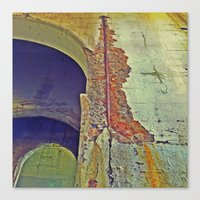 concrete Canvas Prints featuring Concrete by RDKL, Inc.
