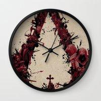 saga Wall Clocks featuring Assassin's Creed Saga by s2lart