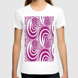 "Koloman (Kolo) Moser ""Textile pattern (Swirls)"" (3) T-shirt"