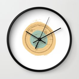 THE PLANET SYSTEM Wall Clock