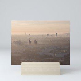 metropolis awakes Mini Art Print