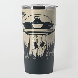 Unidentified Feline Object Travel Mug