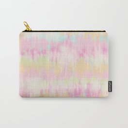 Boho trendy pastel unicorn rainbow tie dye pattern Carry-All Pouch