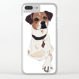 Hello. I'm a dog. Clear iPhone Case