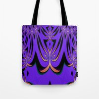 aliens Tote Bags featuring Aliens... by Cherie DeBevoise