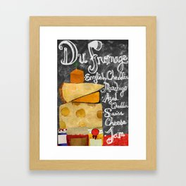 FROMAGE Framed Art Print