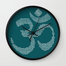 Yoga Every Damn Day Wall Clock